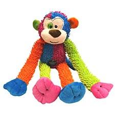 Scream Crew Monkey Multi Colour Plush Dog Toy 43cm