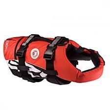 EzyDog SeaDog Dog Flotation Vest Medium Red