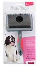 Shear Magic Dog Brush Moulter for Large Dogs
