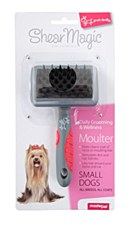 Shear Magic Dog Brush Moulter for Small Dogs