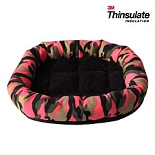 Pet One Small Animal Lounger Pink Camouflage