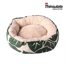 Pet One Small Animal Round Bed Tropical