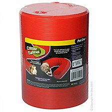 Pet One Small Animal Tunnel Small Red