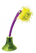 Sporn Kitty Bop Green Purple and Yellow Cat Toy