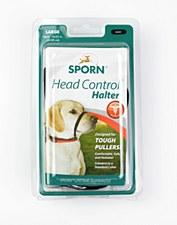 Sporn Head Control Halter Dog Harness Large Black