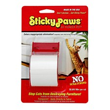 Sticky Paws on a Roll 10m Cat Scratch Deterrent
