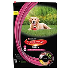 Supercoat Puppy with Real Chicken 18kg Dry Dog Food