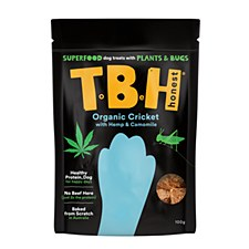TBH Hemp, Camomile & Cricket Plant & Insect Based Dog Treats 100g