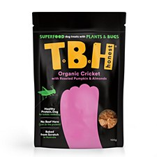 TBH Cricket, Pumpkin & Almond Plant & Insect Based Dog Treats 100g