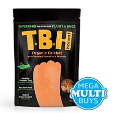 TBH Cricket, Pumpkin & Peanut Butter Plant & Insect Dog Treats 100g
