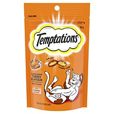 Temptations Tantalising Turkey Flavour Cat Treats 85g