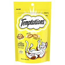 Temptations Tasty Chicken Flavour Cat Treats 85g