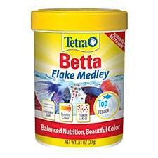 Tetra BettaMin Tropical Medley 23g Fish Food