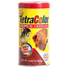 Tetra Color Tropical Granules 300g Fish Food