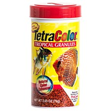 Tetra Color Tropical Granules 75g Fish Food
