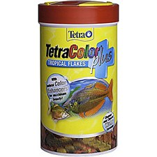Tetra Color Tropical Flakes 28g Fish Food