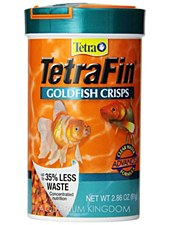 Tetra Fin Goldfish Crisps 81g Fish Food