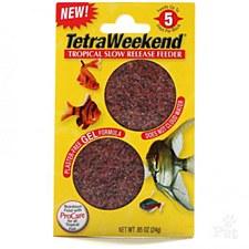 Tetra Weekend Gel Block 24g Fish Food