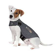 ThunderShirt Dog Anxiety Jacket Heather Grey Small