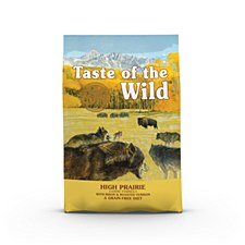 Taste of the Wild Grain Free Canine High Prairie 2kg Dry Dog Food