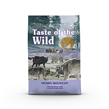 Taste of the Wild Grain Free Canine Sierra Mountain 2kg Dry Dog Food