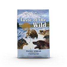 Taste of the Wild Grain Free Canine Pacific Stream 18kg Dry Dog Food