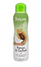 Tropiclean Dog Shampoo Papaya & Coconut 355ml