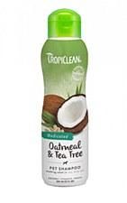 Tropiclean Dog Shampoo Oatmeal & Tea Tree 355ml