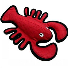 Tuffy Sea Creatures Larry Lobster Dog Toy