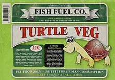 Fish Fuel Co. Turtle Veg 110g Frozen