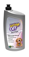 urineOFF Dog & Puppy Odour & Stain Remover 946ml