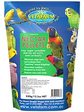 Vetafarm Nectar Pellets 350g Bird Food
