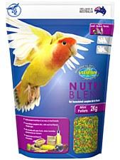 Vetafarm Nutri Blend Mini Pellets 2kg Bird Food