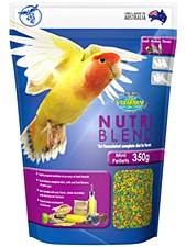 Vetafarm Nutri Blend Mini Pellets 350g Bird Food
