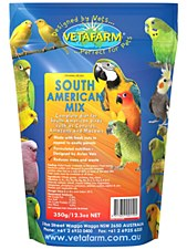 Vetafarm South American Mix 350g Bird Food