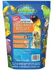 Vetafarm Superior Egg and Biscuit Formula 350g Bird Food