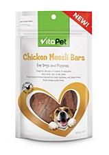 VitaPet Chicken Muesli Bars 100g Dog Treats