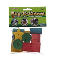 Critter Ware Bag O Chews Small Pet Treats Medium (12 Pack)