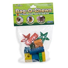 Critter Ware Bag O Chews Small Pet Treats Small (12 Pack)