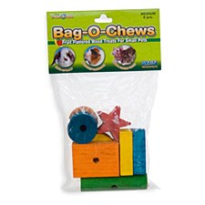 Critter Ware Bag O Chews Small Pet Treats Medium (8 Pack)