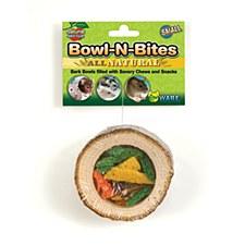 Critter Ware Bowl N Bites Small Pet Treats Small