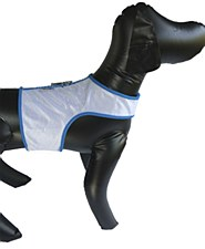 Wild Dogz Dog Vest Insect Control White & Blue Extra Small