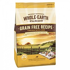 Whole Earth Farms Grain Free Recipe Chicken with Lamb 12kg Dry Dog Food