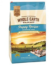 Whole Earth Farms Puppy Recipe Salmon & Tuna 3kg Dry Dog Food