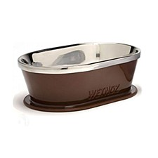 Wetnoz Pet Bowl Urban Dish 3 Cup Bark