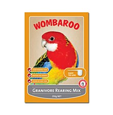 Wombaroo Granivore Rearing Mix 250g Bird Food
