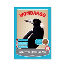 Wombaroo Insectivore Rearing Mix 250g Bird Food