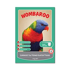 Wombaroo Lorikeet and Honeyeater 1.5kg Bird Food