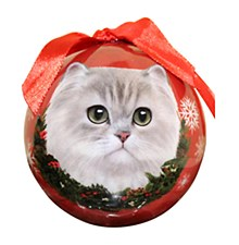 Swish Collection Christmas Bauble Persian Cat