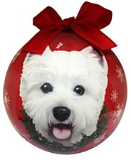 Swish Collection Christmas Bauble West Highland White Terrier